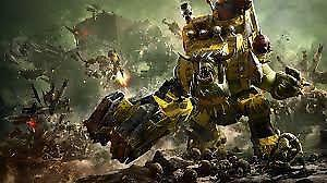 Want to buy Warhammer 40k - Orks, Tyranids and Spaace Marines
