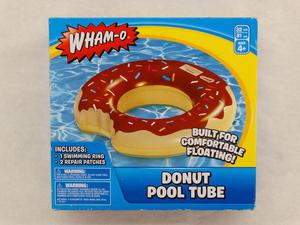 Wham-O Chocolate Donut Swimming Pool Beach Inflatable 32""