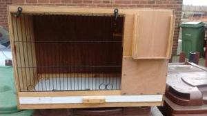 wooden budgie breeding cages