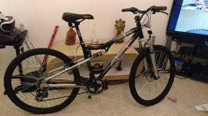 Apollo FS26s mountain bike front and rear suspension