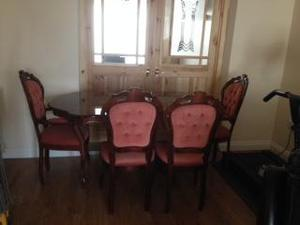 Beautiful Dining Table & Chairs for sale