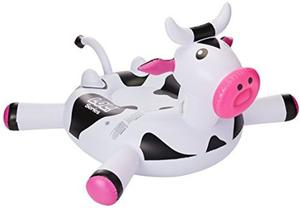 Cow Inflatable Pool Float For kids Pool Swimming Lounge Fun