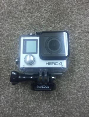 GoPro Hero 4 Black complete set + plus extra battery and 64GB SD card