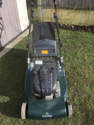 Hayter harrier 56 large self propelled roller mower