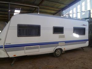 Hobby Prestige 560 UFE Caravan  with Motor Mover