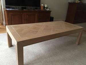 Large Lime Oak Coffee table