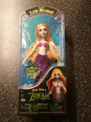 Once Upon a Zombie Little Mermaid Doll