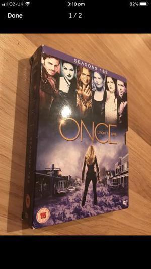 Once upon a time, seasons 1 &2 boxset