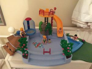 Playmobil outdoor pool