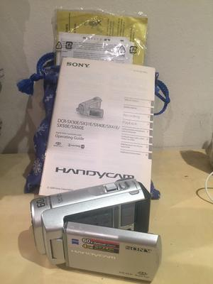 Sony Handycam DCR-SX30 with accessories