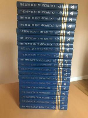 The New Book of Knowledge by Grolier FULL SET OF 20