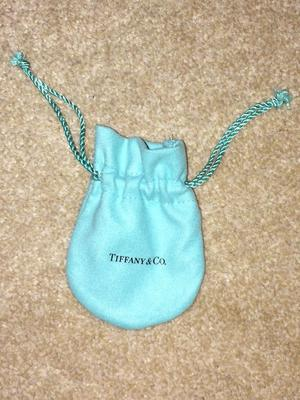Tiffany Necklace- Olive Leaf pendant and chain with original Tiffany box and gift bag