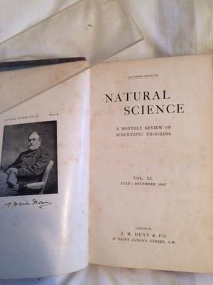 """Vol 9-11 of """"Natural Science""""  FREE"""