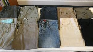 Men's jeans and trousers 30in waist