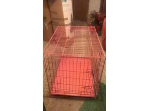 Pink Dog Crate in High Wycombe