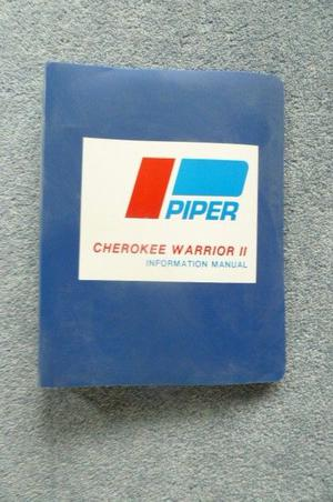 Piper Cherokee Warrior 2 Information Manual