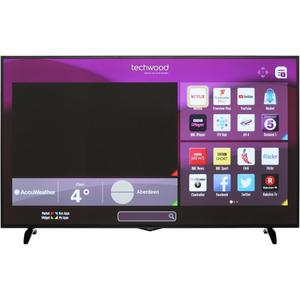 Techwood 65 Inch Smart LED TV 4K Ultra HD