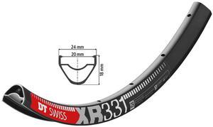 circle xr noir  tl-ready 32 holes DT Swiss