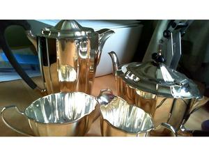 Birmingham Silver 4 piece Tea Set in Brixham