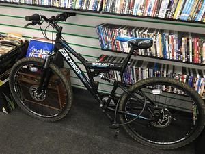 Boss Stealth Mens Mountain Bike 18""