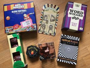 Brand new brain puzzles