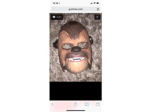 Chewbacca mask with sounds in Southampton