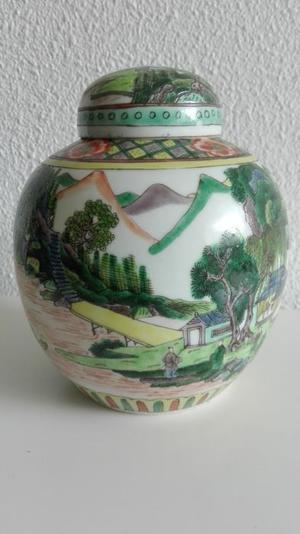 Famille Verte Jar (China) ca.