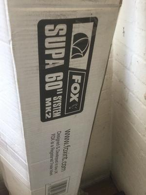"Fox 60"" Supa Brolly system brand new"