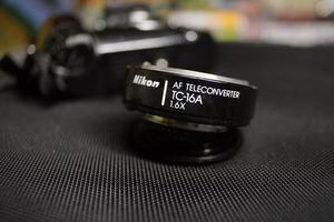 Nikon AF tele-converter TC-16A 1.6X