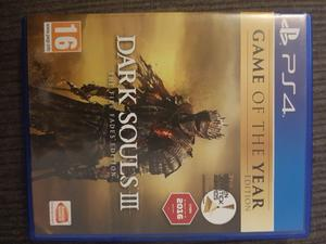 PS4 Dark Souls 3: Game of the year edition
