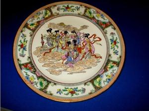 chinese hand painted plate in Scarborough