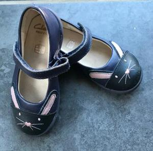 """Clarke's """"My First"""" Rabbit Shoes"""