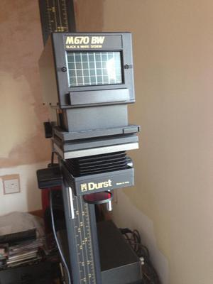 Durst m670 colour enlarger and darkroom equipment | Posot Class