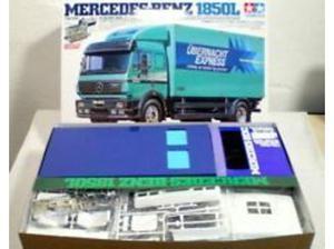 Tamiya Mercedes Benz l box truck with upgrade baring kit