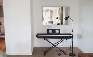 YAMAHA digital stage piano P-45B with stand