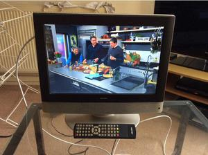 Bush 16inch flat screen LCD television in Leeds