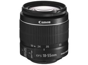 Canon EF-S Zoom Lens 18 mm - 55 mm - f/ IS MK II. in