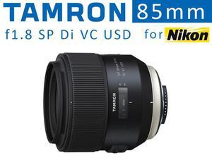 Tamron 85mm f1.8 SP Di VC USD Portrait Lens for Nikon in
