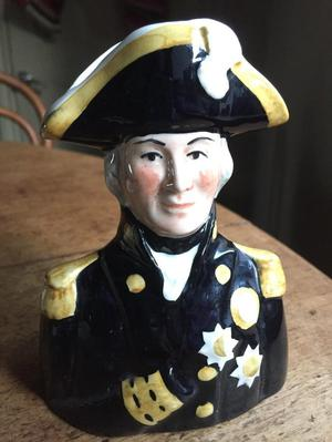 A Pride of Britain Admiral Lord Nelson Toby Jug,