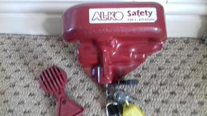Alko hitch lock