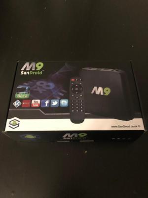 Android TV box Sandroid Kodi Netflix YouTube