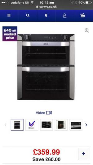 Brand new belling oven/hob £510 in curries
