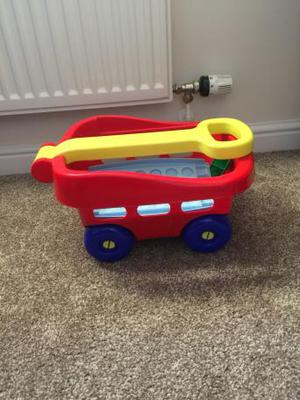 Building blocks truck toy