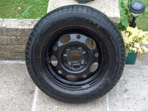 Ford Sierra Wheel & Tyre.