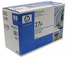 HP 27A CA Genuine Original Black Toner Cartridge HP27A