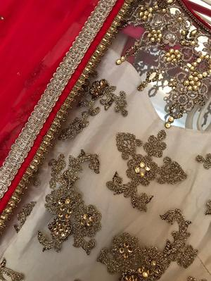 Indian Gold Embroidered Dress/Suit