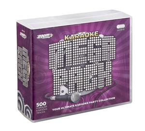 Karaoke Mega Pack of DC-Gs with 500 Tracks (like new)