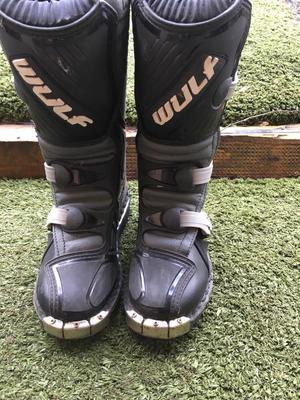 Kids moto x boots