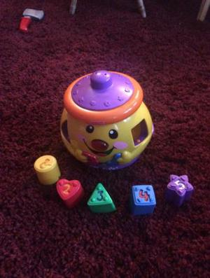 Kids toy Fisher price shape sorter Cookie jar