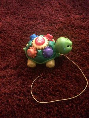 Kids toy V Tec baby pull and play turtle
